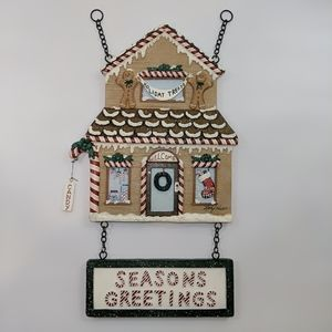 Kathy Hatch Gingerbread House Christmas Decoration